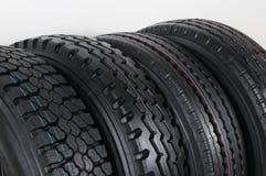 Truck tire. Royalty Free Stock Photos