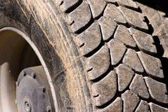 Truck tire Stock Photo