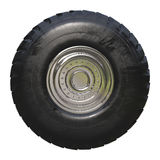 Truck tire isolated Stock Image