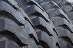 Truck tire stack background Royalty Free Stock Image