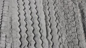 Truck tire tread  road pattern mud. Truck car tire tread  road pattern mud dirty stock video