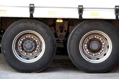 Truck tires Stock Photos