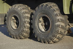 Truck tires Stock Photography