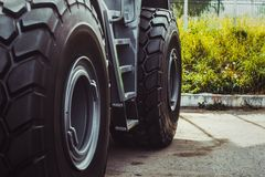 Truck tires new Royalty Free Stock Photo