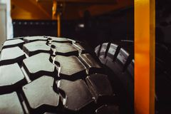 Truck tires new Royalty Free Stock Images