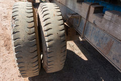 Truck tires. Royalty Free Stock Photography