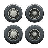 Truck tires Royalty Free Stock Images