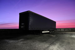 Truck trailer Stock Photography