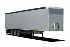 Truck trailer Royalty Free Stock Images