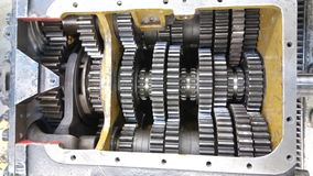 Truck Transmission gears Royalty Free Stock Images