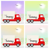 Truck transport Stock Photography