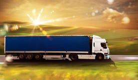 Truck transport Royalty Free Stock Photos