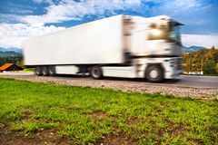 Truck transportation Stock Photo