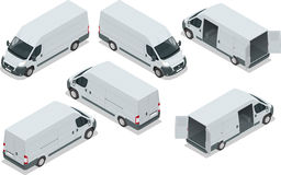 Truck for transportation cargo. Van for the Stock Images