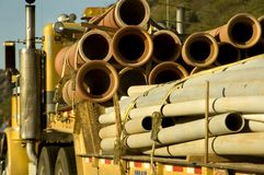 Truck Tubes Royalty Free Stock Photography
