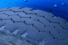 Truck tyre Royalty Free Stock Photos