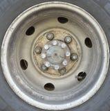 Truck tyre Stock Photo