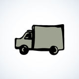 Truck. Vector drawing Stock Photos