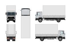 Truck vector template. Stock Photos