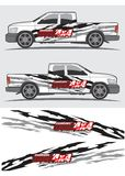 Truck and vehicle decal Graphic design