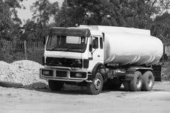 Truck Water Tanker Stock Photo