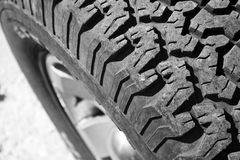 Truck wheel Royalty Free Stock Photography