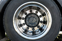 Truck Wheel Stock Image