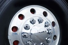Truck Wheel Royalty Free Stock Photo