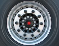 Truck Wheel Stock Photography