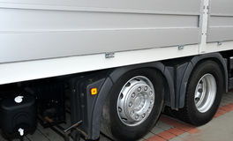 Truck wheel Royalty Free Stock Photography