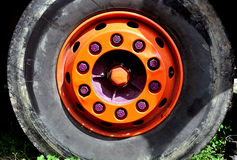 Truck wheel Royalty Free Stock Images