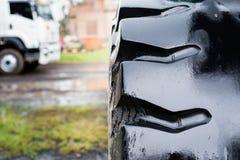 Truck wheel Stock Photography