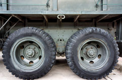 Truck wheel Royalty Free Stock Photos