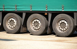 Truck wheel set Stock Photography