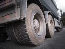 Truck wheels Stock Photography