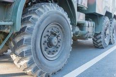 Truck wheels Stock Photos