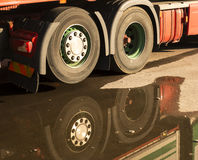 Truck wheels Stock Image