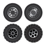 Truck wheels Royalty Free Stock Photo