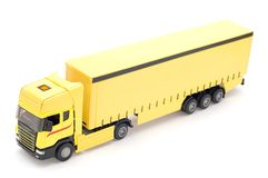 Truck on white Stock Image