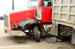 Truck Wreck Royalty Free Stock Photography