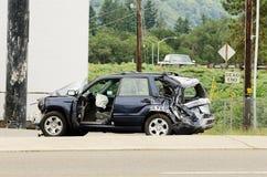 Truck Wreck Stock Photo