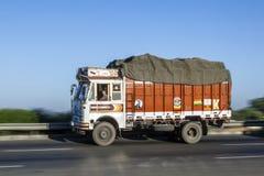 Truck on the Yamuna Expressway