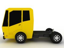 Truck with a yellow roof and black glass �2 Stock Photos