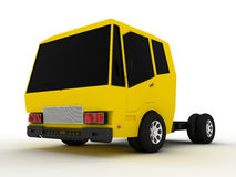 Truck with a yellow roof and black glass №3 Stock Images