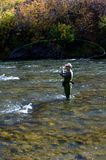Truckee River Fly Fishing Stock Photos