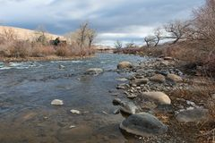 Truckee River Royalty Free Stock Images
