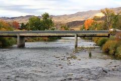 Truckee rzeka Zdjęcia Stock