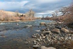 Truckee rzeka Zdjęcia Royalty Free