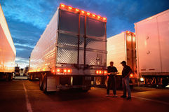 Truckers Royalty Free Stock Photography