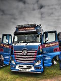 TRUCKFEST 2015 KNUTSFORD dénommant et accordant Photographie stock